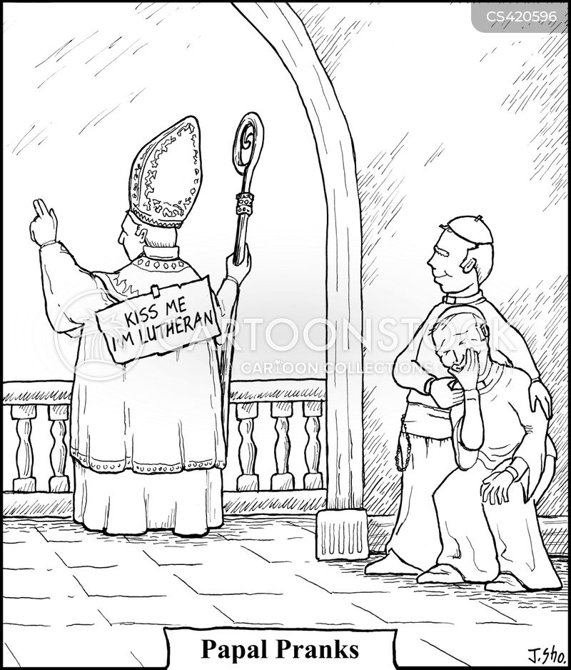 lutheran cartoon