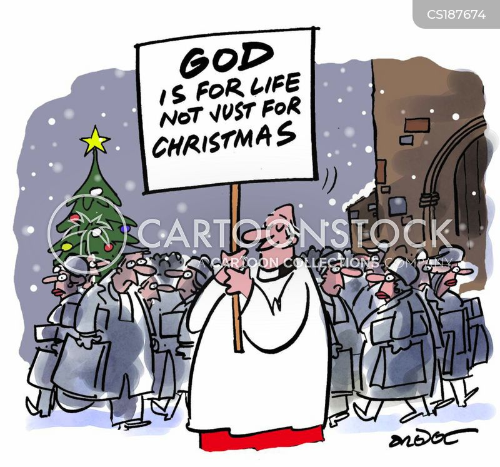believing cartoon