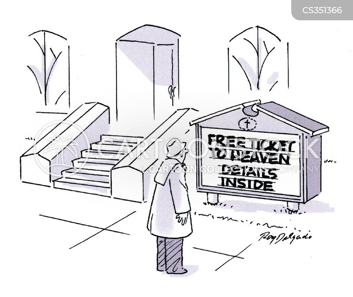 free ticket cartoon