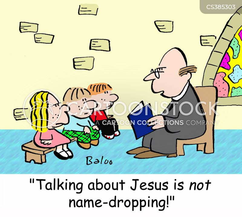 name droppers cartoon