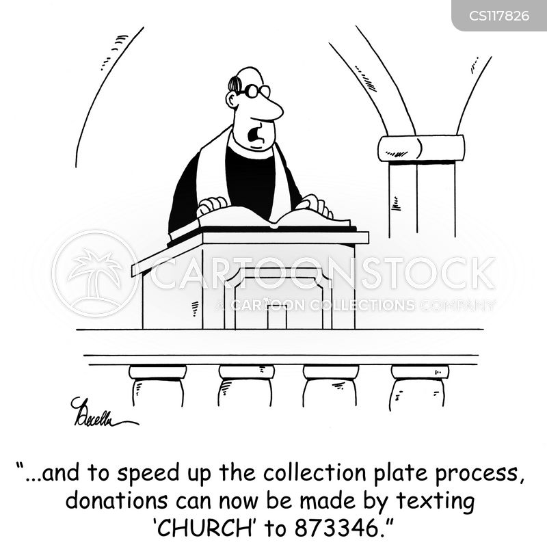 reverend cartoon