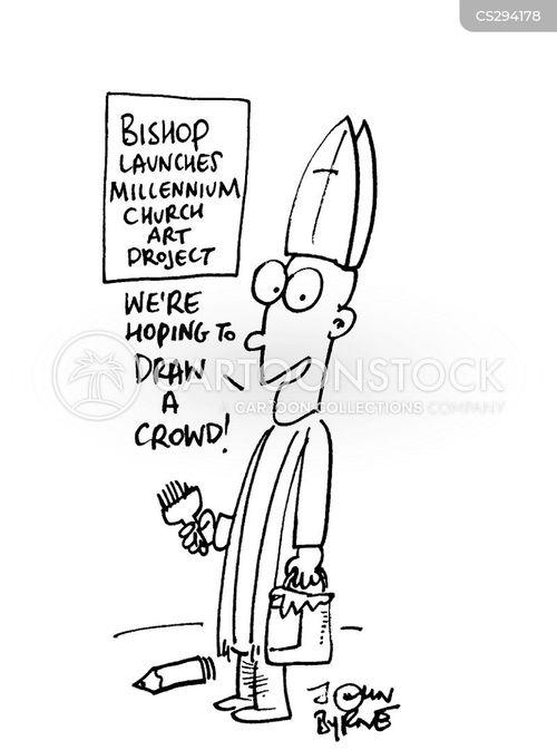 churchs cartoon