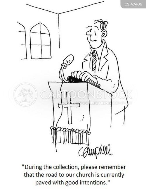 offerings cartoon