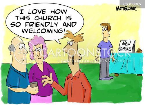 Christian Church Cartoon 2