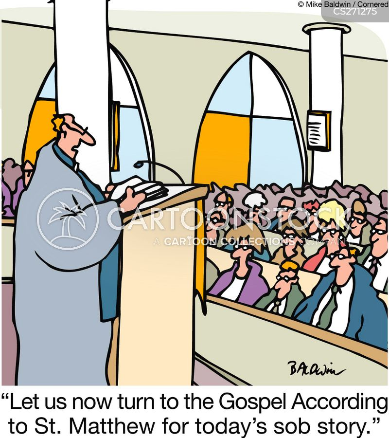 bible readings cartoon