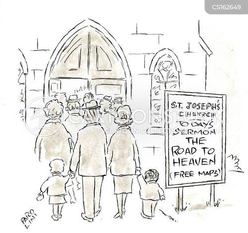 parish cartoon