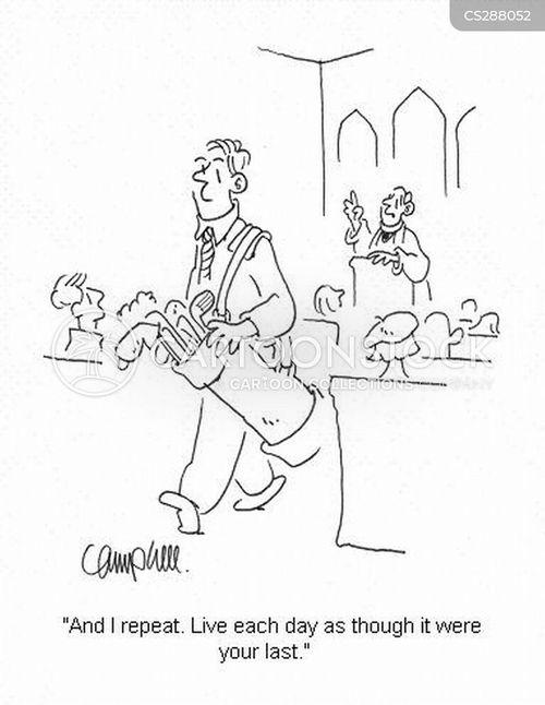 religious teachings cartoon