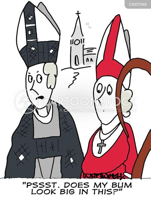 house of clergy cartoon