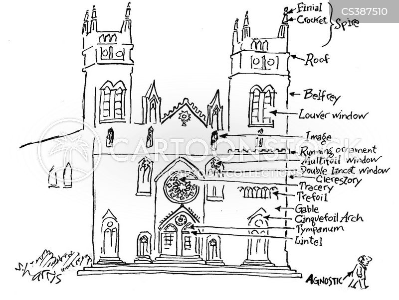 Church Architecture Cartoons And Comics Funny Pictures