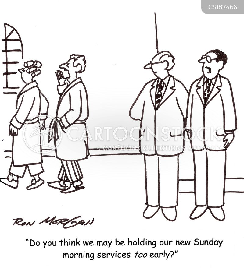 church sermons cartoon