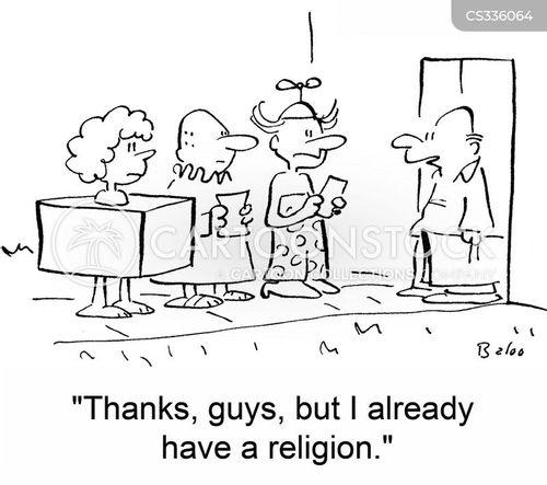 proselytize cartoon