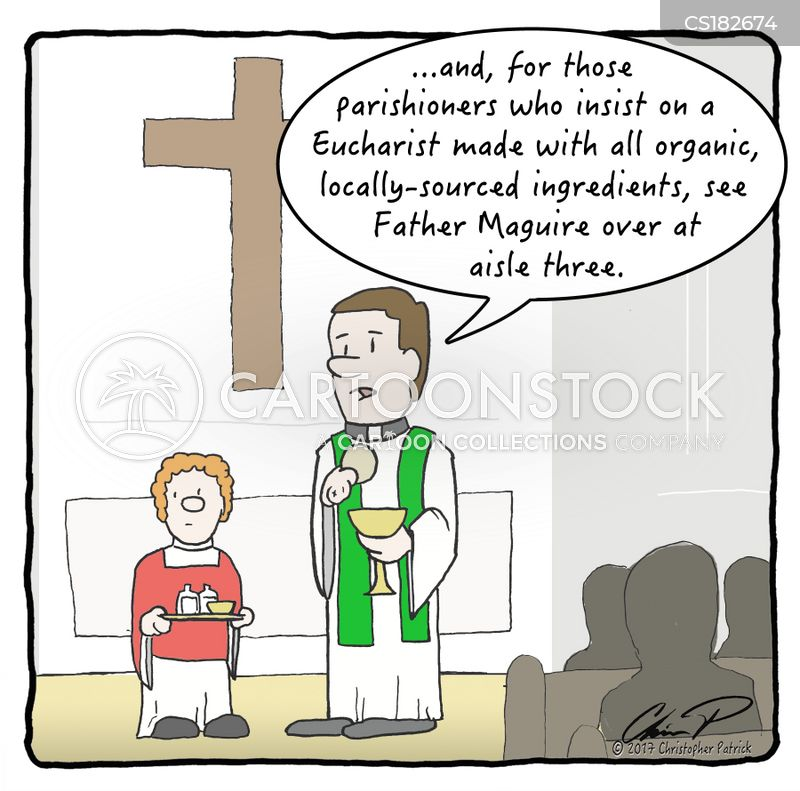 religious ceremonies cartoon