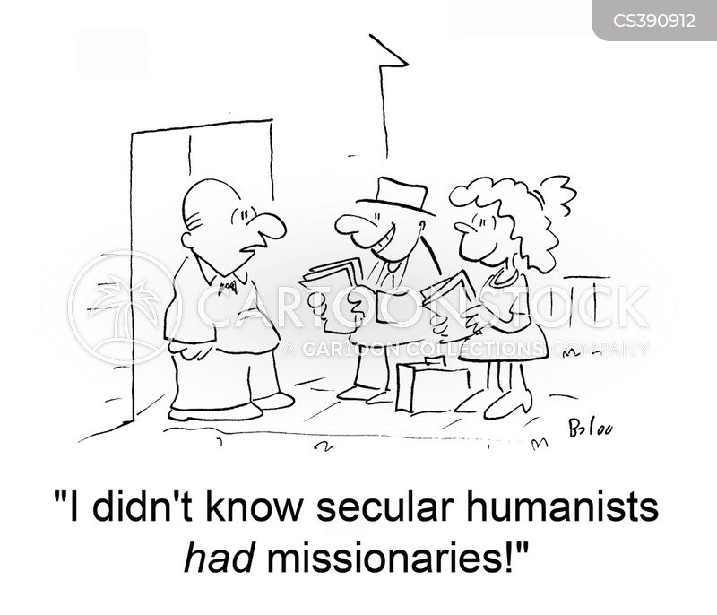 humanist cartoon