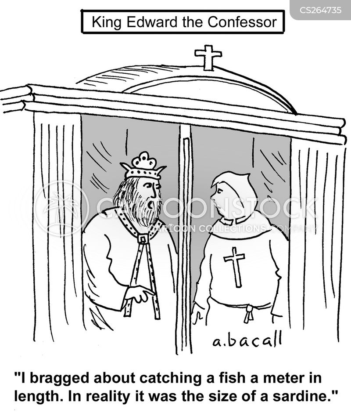 catching fish cartoon