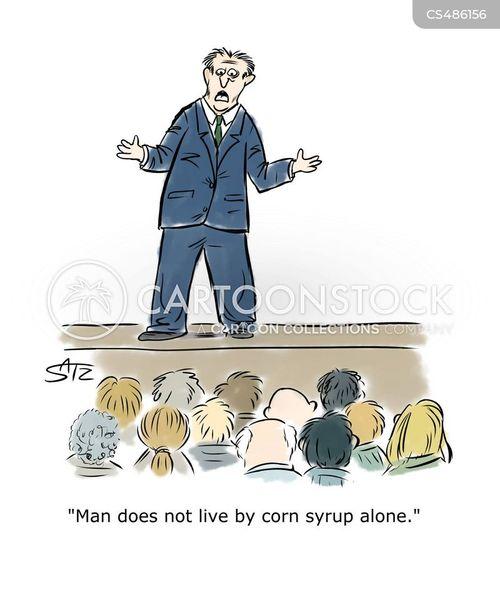 church attendant cartoon