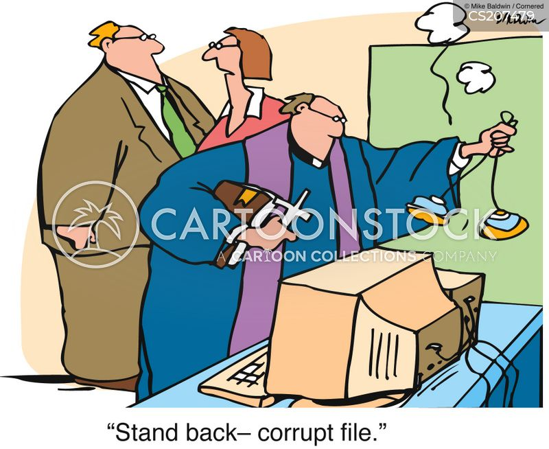 compress cartoon
