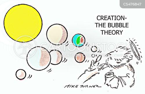 creation theory cartoon