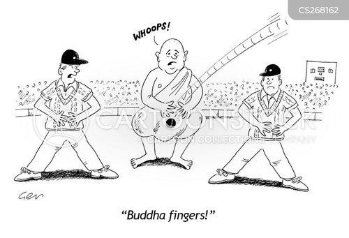 butter fingers cartoon
