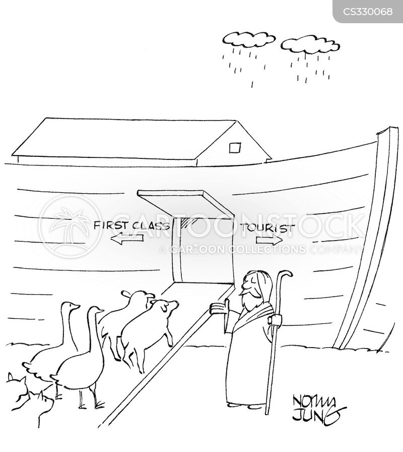 biblical figures cartoon