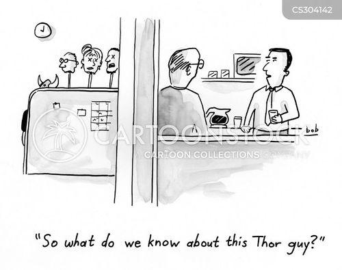 thor cartoon