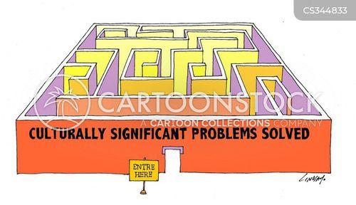 cultural problem cartoon