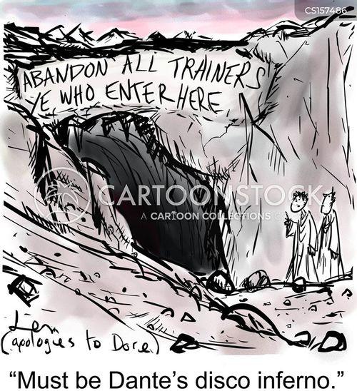 dantes inferno cartoon