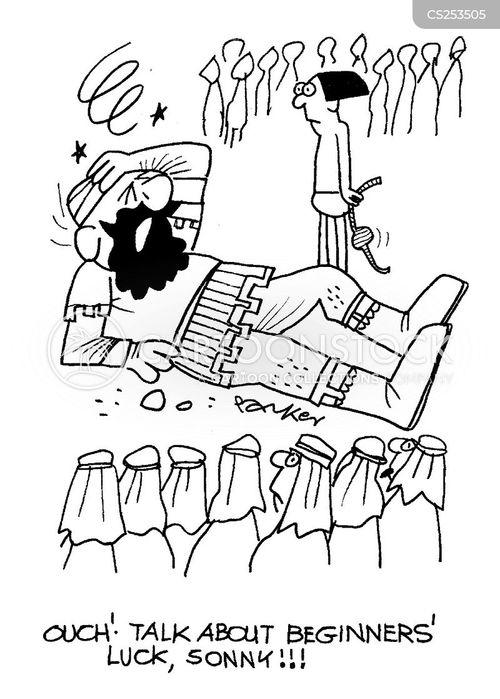 outwitting cartoon