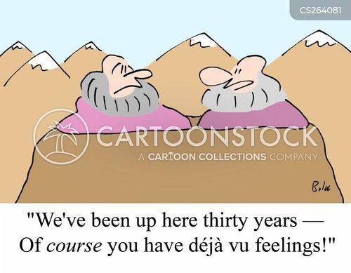 spiritual retreats cartoon