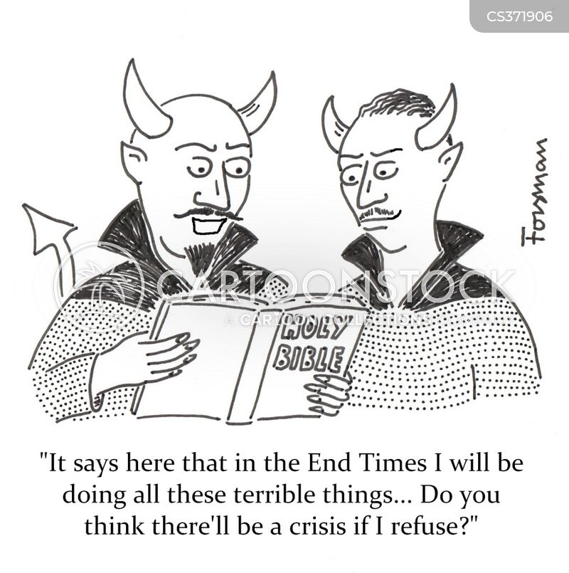 book of revelations cartoon