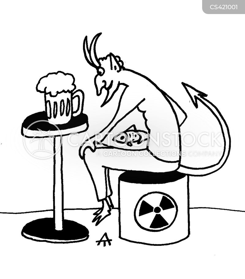 radioactivity cartoon