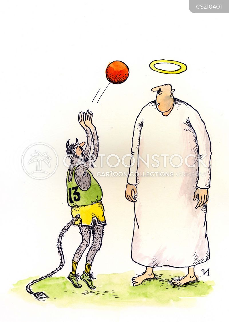 Shooting Hoops Cartoons And Comics Funny Pictures From