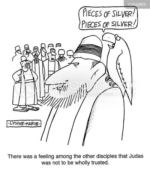 judas cartoon