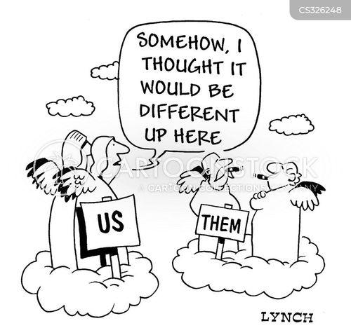 divides cartoon