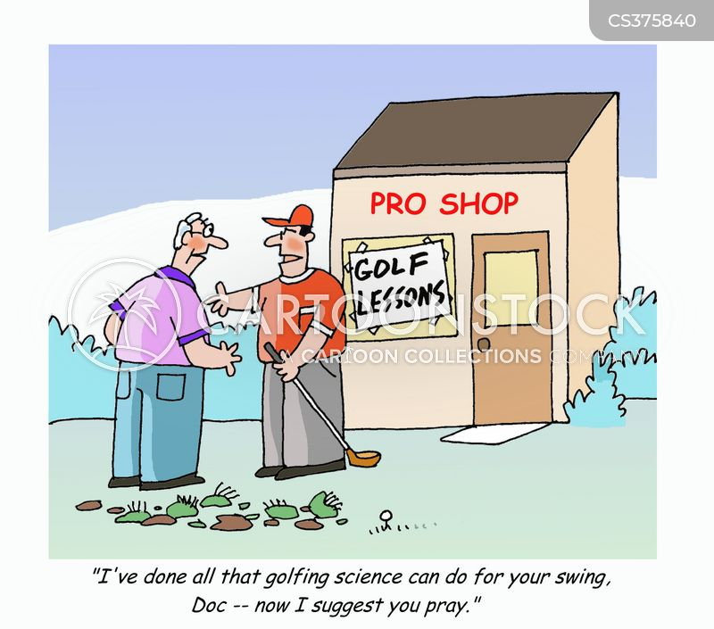 Golf Lesson Cartoons and Comics - funny pictures from CartoonStock