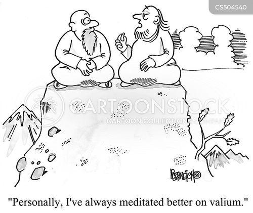 spiritual advisors cartoon