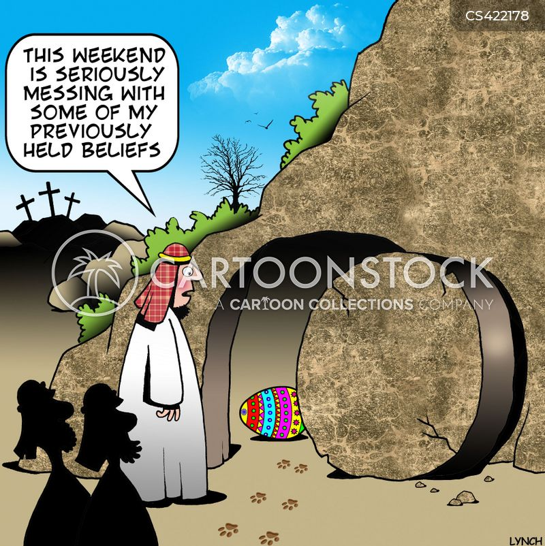 easter sunday cartoon