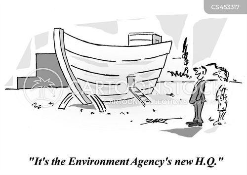 early warning cartoon
