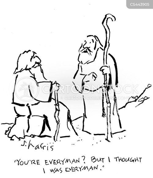 everyman cartoon