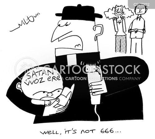 666 cartoon