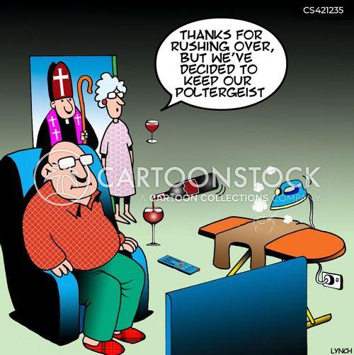 poltergeist cartoon