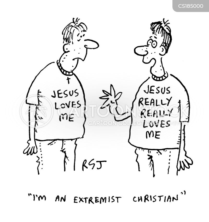 Fundamentalist Cartoons and Comics - funny pictures from ... Religious Extremism Cartoon