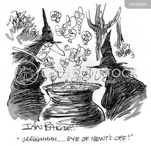 necromancer cartoon
