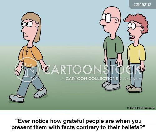 alternative facts cartoon