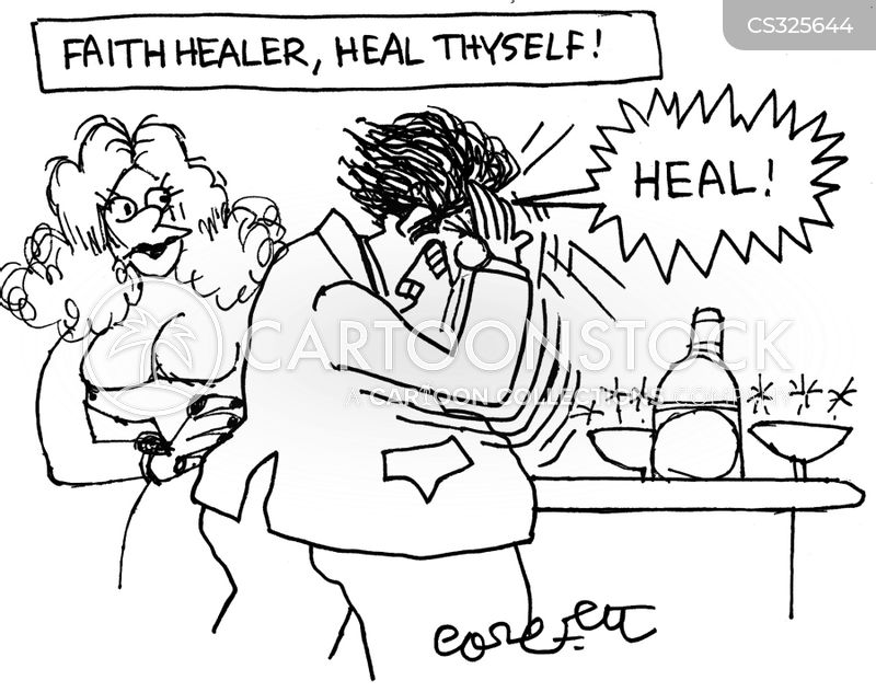 Faith Healers cartoons, Faith Healers cartoon, funny, Faith Healers picture, Faith Healers pictures, Faith Healers image, Faith Healers images, Faith Healers illustration, Faith Healers illustrations