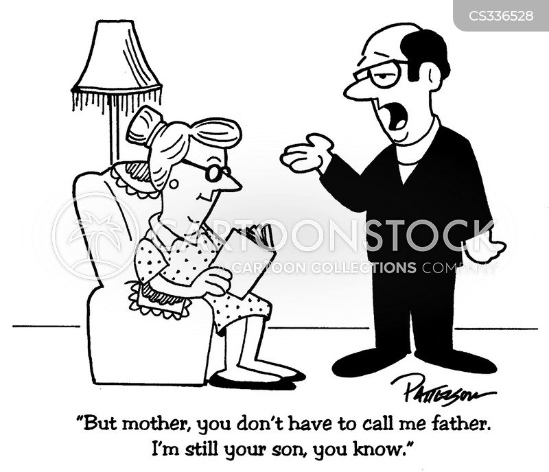 mothers and sons cartoon