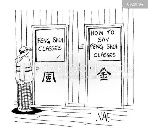 evening classes cartoon