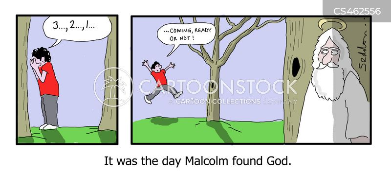 finding god cartoon