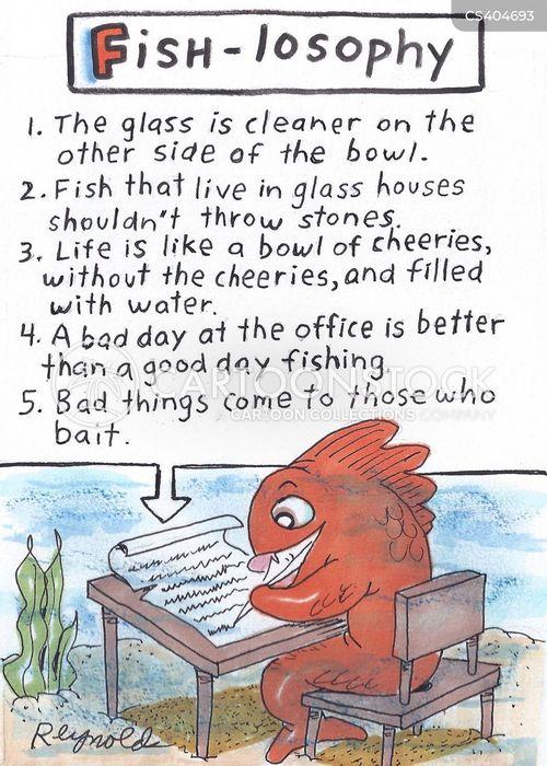 wise word cartoon