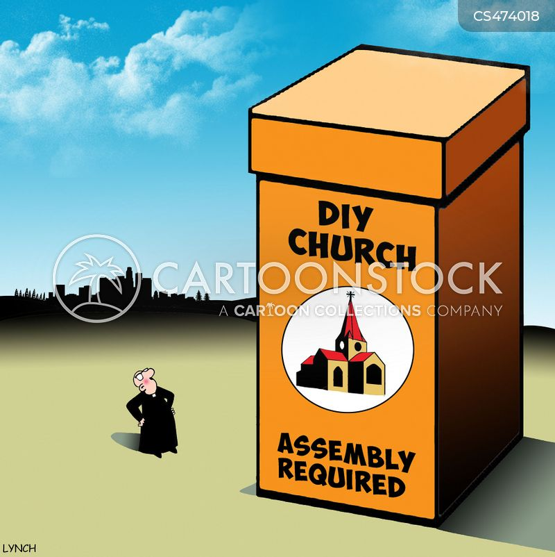 Pop-up Church Cartoons and Comics - funny pictures from