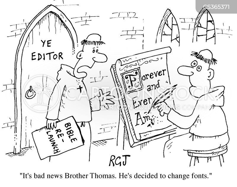 Fonts Cartoons and Comics - funny pictures from CartoonStock